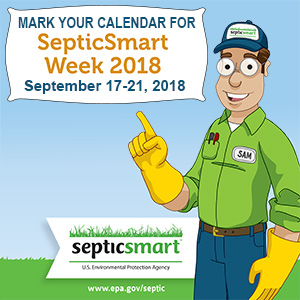 September 17th through the 21st is Septic Smart week